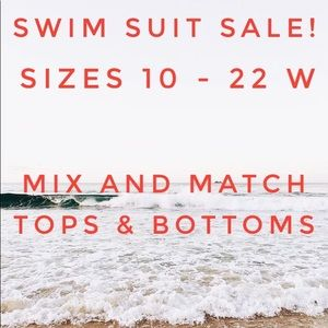 Plus size swimsuit sale tops and bottoms